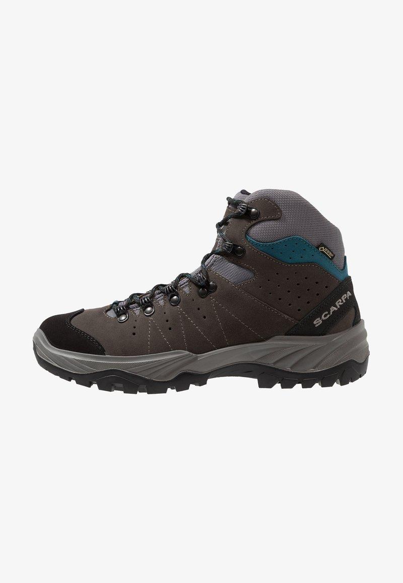 Scarpa - MISTRAL GTX - Hiking shoes - smoke/lake blue