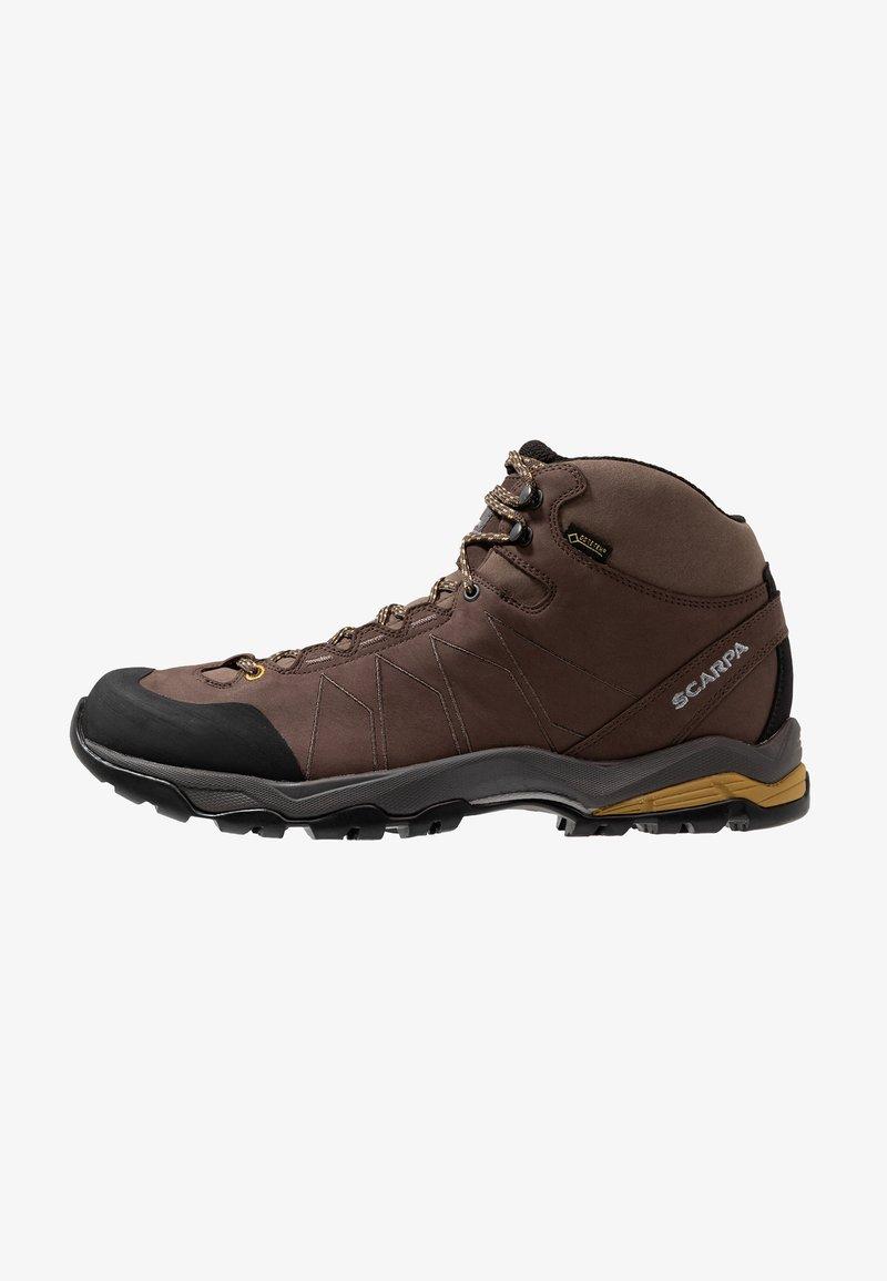 Scarpa - MORAINE PLUS MID GTX - Hiking shoes - charcoal/sulphur green
