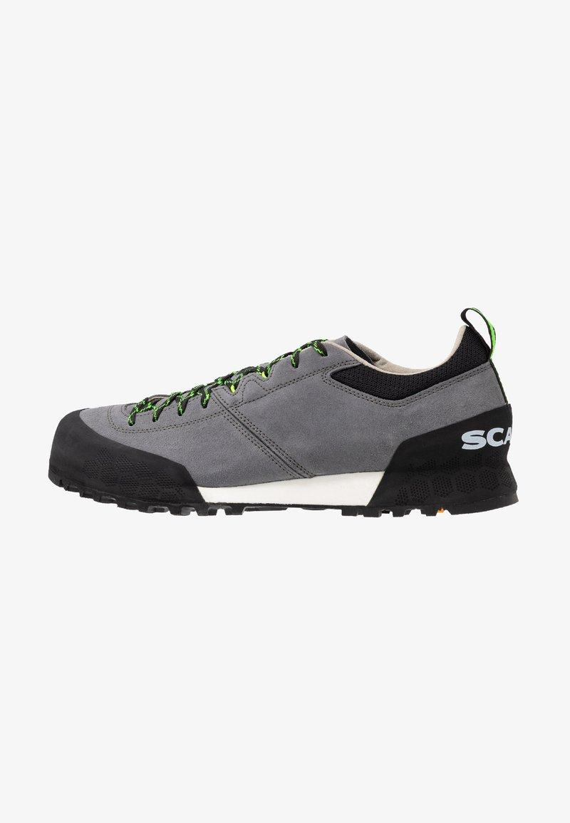 Scarpa - KALIPÈ - Hiking shoes - smoke/green fluo