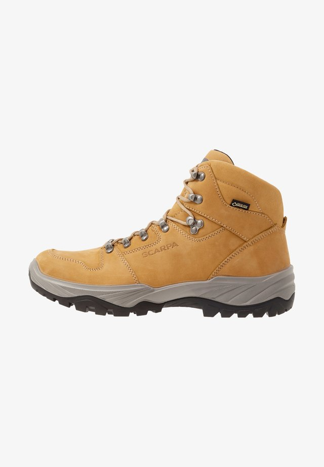 TELLUS GTX - Hiking shoes - ocra