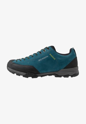 MOJITO TRAIL - Hiking shoes - lakeblue