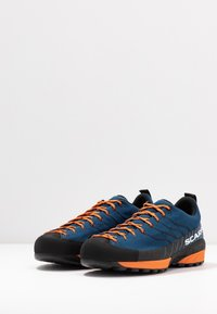 Scarpa - MESCALITO - Hiking shoes - blue/orange - 2