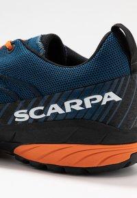 Scarpa - MESCALITO - Hiking shoes - blue/orange - 5