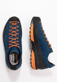 Scarpa - MESCALITO - Hiking shoes - blue/orange - 1