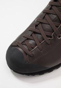 Scarpa - MOJITO BASIC MID - Hiking shoes - dark brown - 6