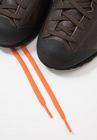 Scarpa - MOJITO BASIC MID - Hiking shoes - dark brown - 5