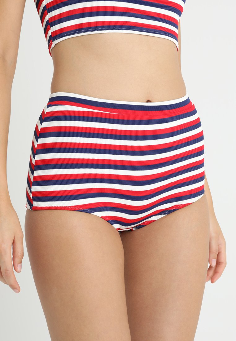 Solid & Striped - JAMIE BOTTOM - Bikini-Hose - blue/red/white