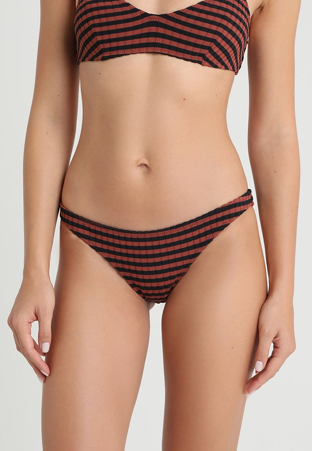 THE RACHEL RIAD BOTTOM - Bikinialaosa - black