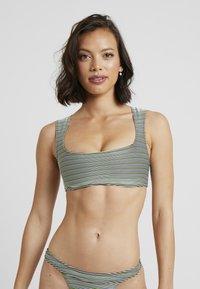 Solid & Striped - THE CLEO - Bikini top - white/black - 0
