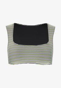 Solid & Striped - THE CLEO - Bikini top - white/black - 3