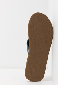 Quiksilver - MOLO ABYSS - T-bar sandals - blue/brown - 4