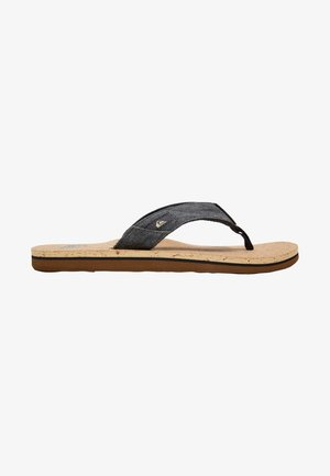 MOLO ABYSS - T-bar sandals - black/brown