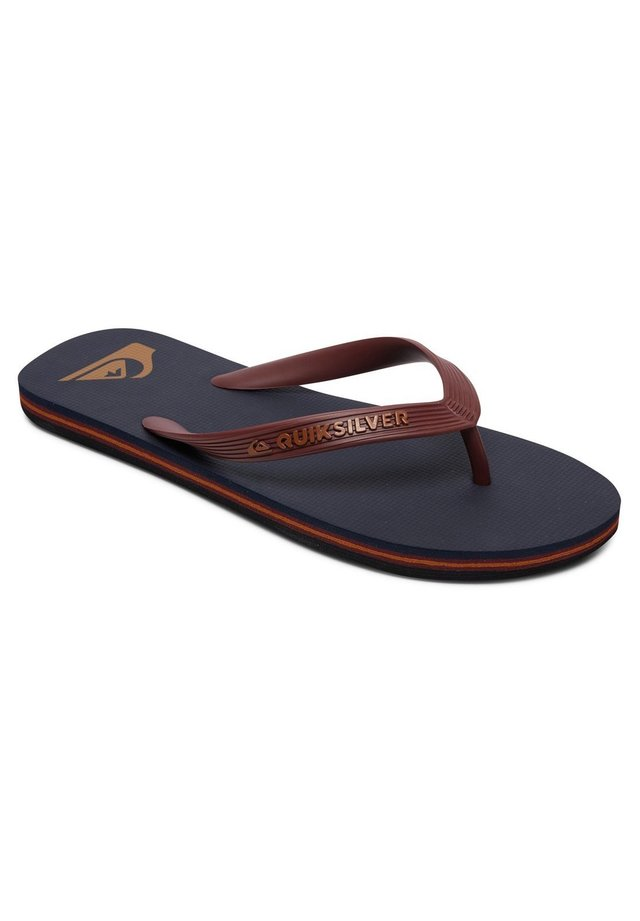 QUIKSILVER™ MOLOKAI - SANDALEN FÜR MÄNNER AQYL100601 - Tongs - red/blue/black