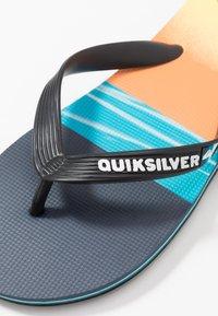 Quiksilver - MOLOKAI - Boty do bazénu - black/blue - 5