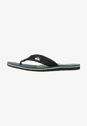 MOLOKAI LAYBACK - Bade-Zehentrenner - black/blue/green