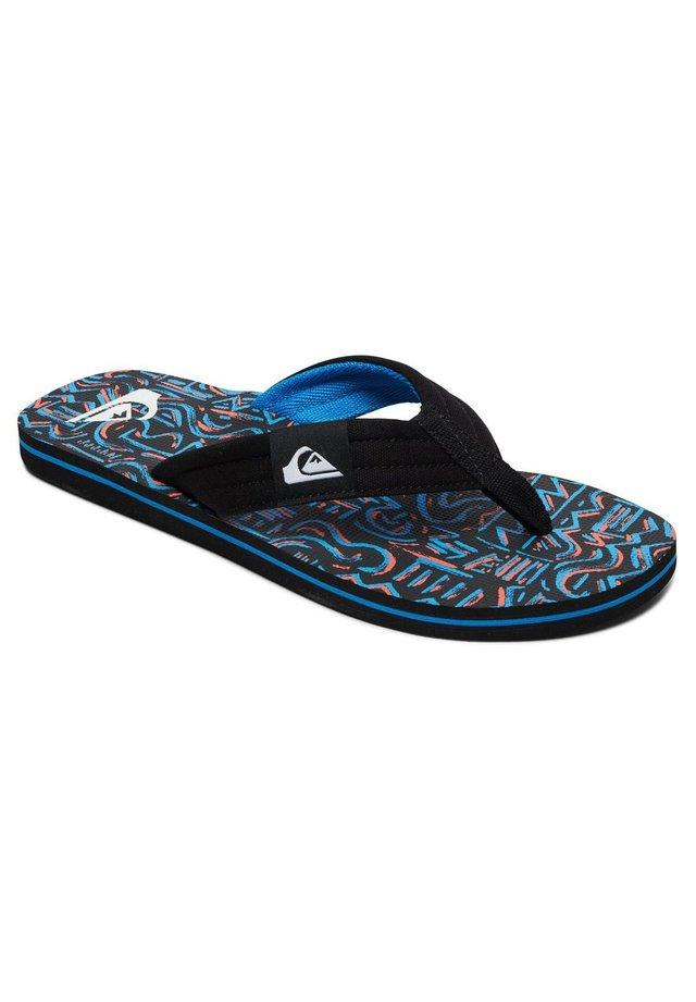 MOLOKAI LAYBACK - Tongs - black/black/blue