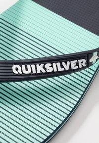 Quiksilver - MOLOKAI - Boty do bazénu - blue/green - 5