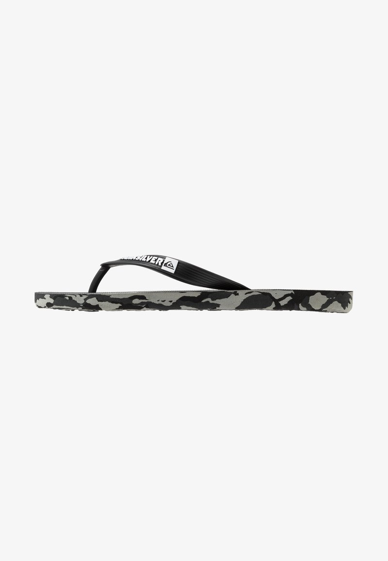 Quiksilver - MOLOKAI - Pool shoes - black/grey