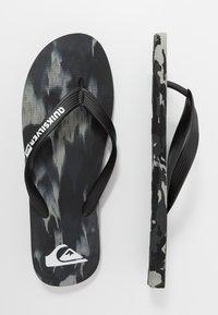 Quiksilver - MOLOKAI - Pool shoes - black/grey - 1