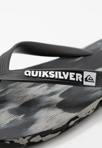 Quiksilver - MOLOKAI - Pool shoes - black/grey - 5