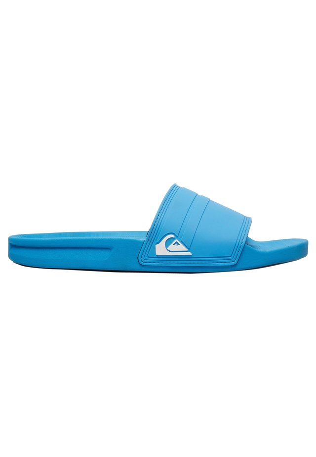 RIVI SLIDE - Sandales de bain - blue/white/blue