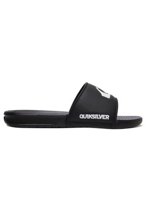 BRIGHT COAST - Pool slides - black/white