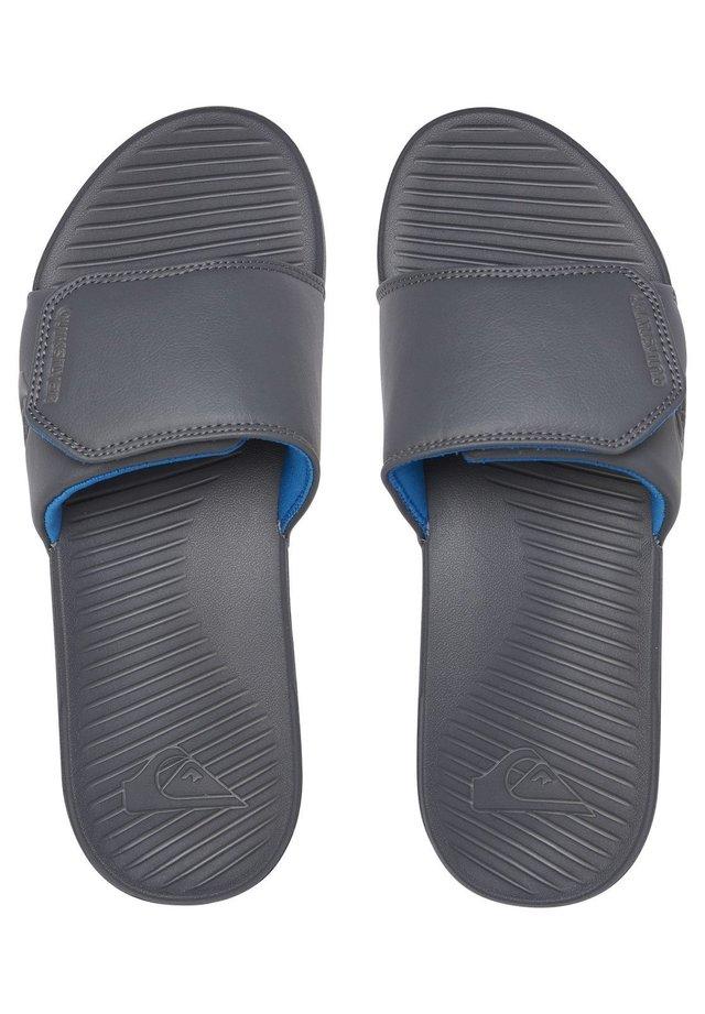 BRIGHT COAST  - Sandales de bain - grey/grey/grey