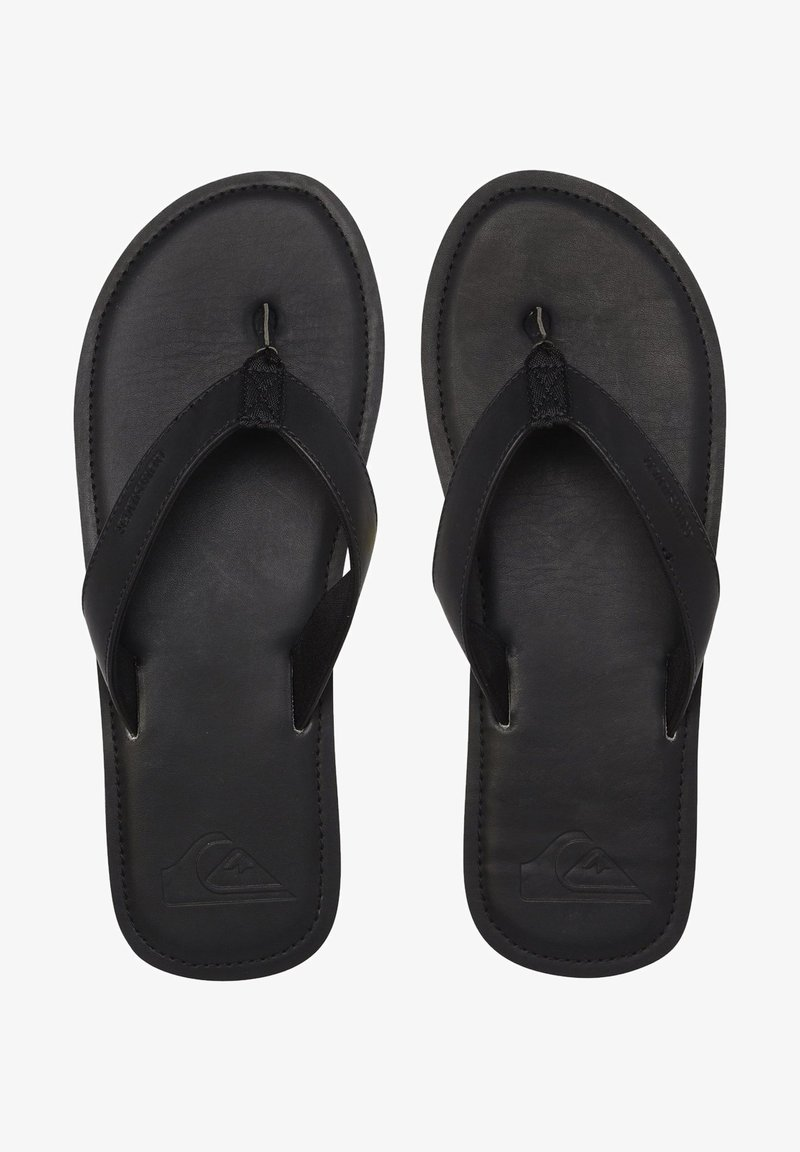 Quiksilver - Chaussons - solid black
