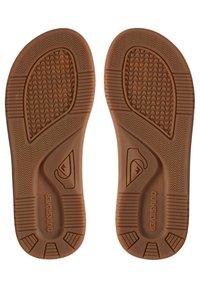 Quiksilver - T-bar sandals - brown/brown/brown - 2