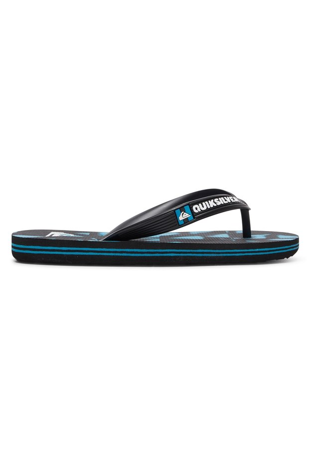 MOLOKAI DYE CHECK  - Tongs - black/black/blue