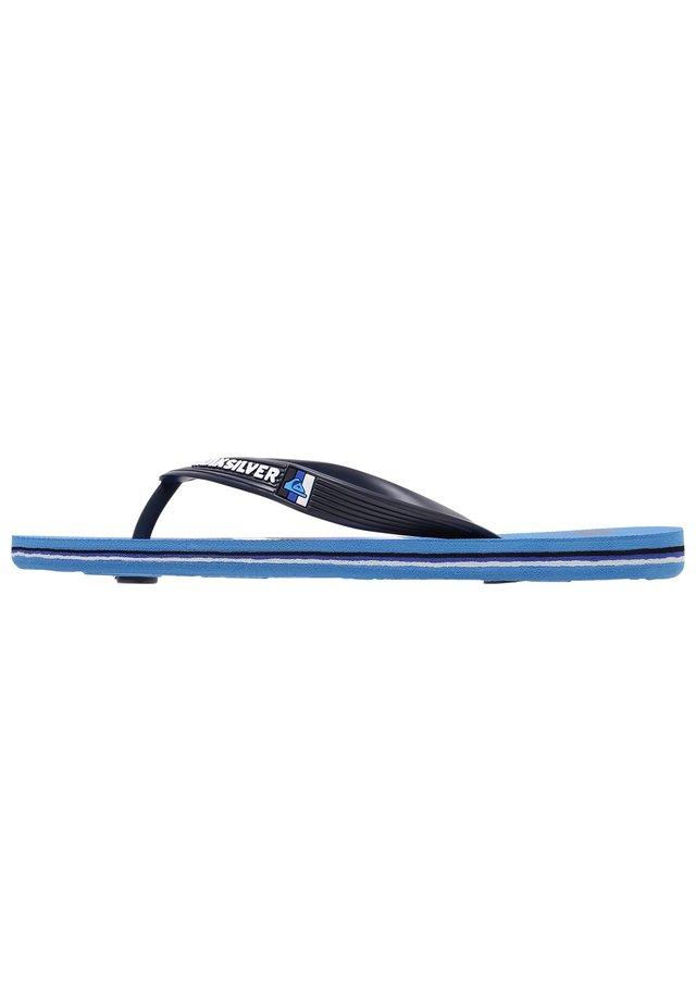 MOLOKAI SLAB  - Bade-Zehentrenner - grey/blue/blue