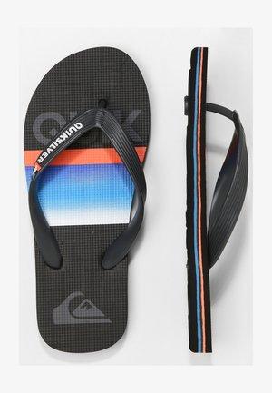 MOLOKAI SLAB  - Pool shoes - black/grey/blue