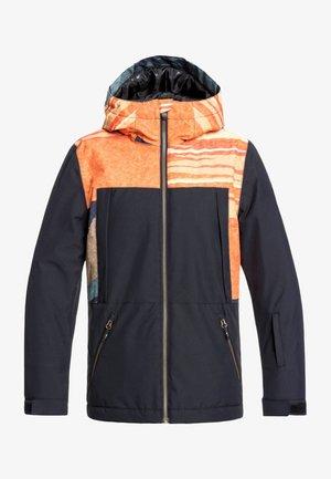 TRAVIS RICE AMBITION - Waterproof jacket - apricot orange
