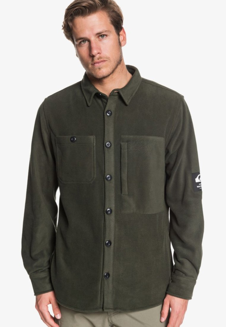 Quiksilver - WATERMAN OCEAN EXPEDITION  - Shirt - forest night