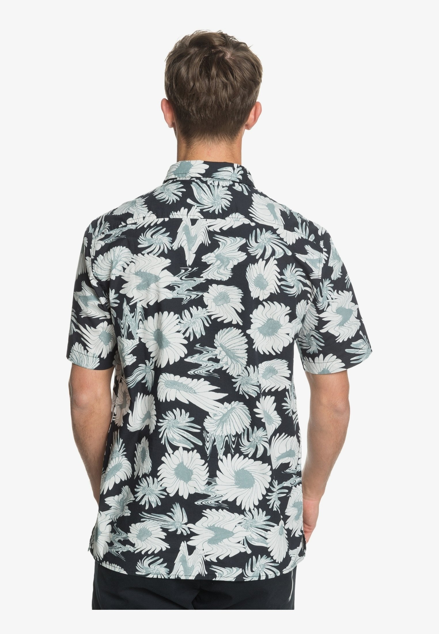 Quiksilver Hemd - black warped   Herrenbekleidung 2020