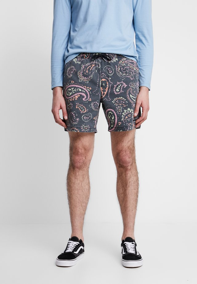 TAXERPRINT - Shorts - black microdose