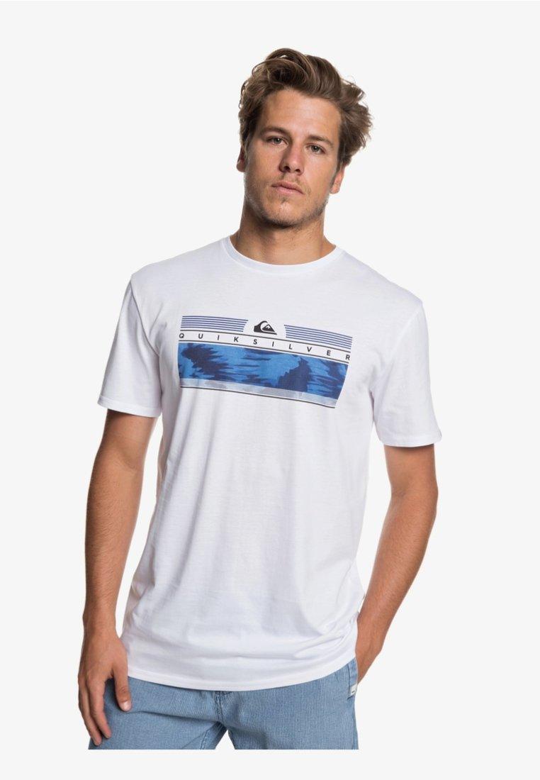ImpriméWhite shirt Quiksilver shirt T T Quiksilver Yb6f7yg