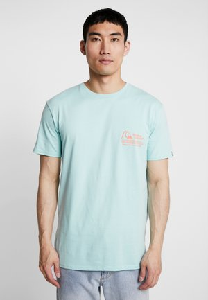 DAILY WAX TEE - Print T-shirt - pastel turquoise