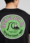 Quiksilver - DAILY WAX TEE - T-Shirt print - black