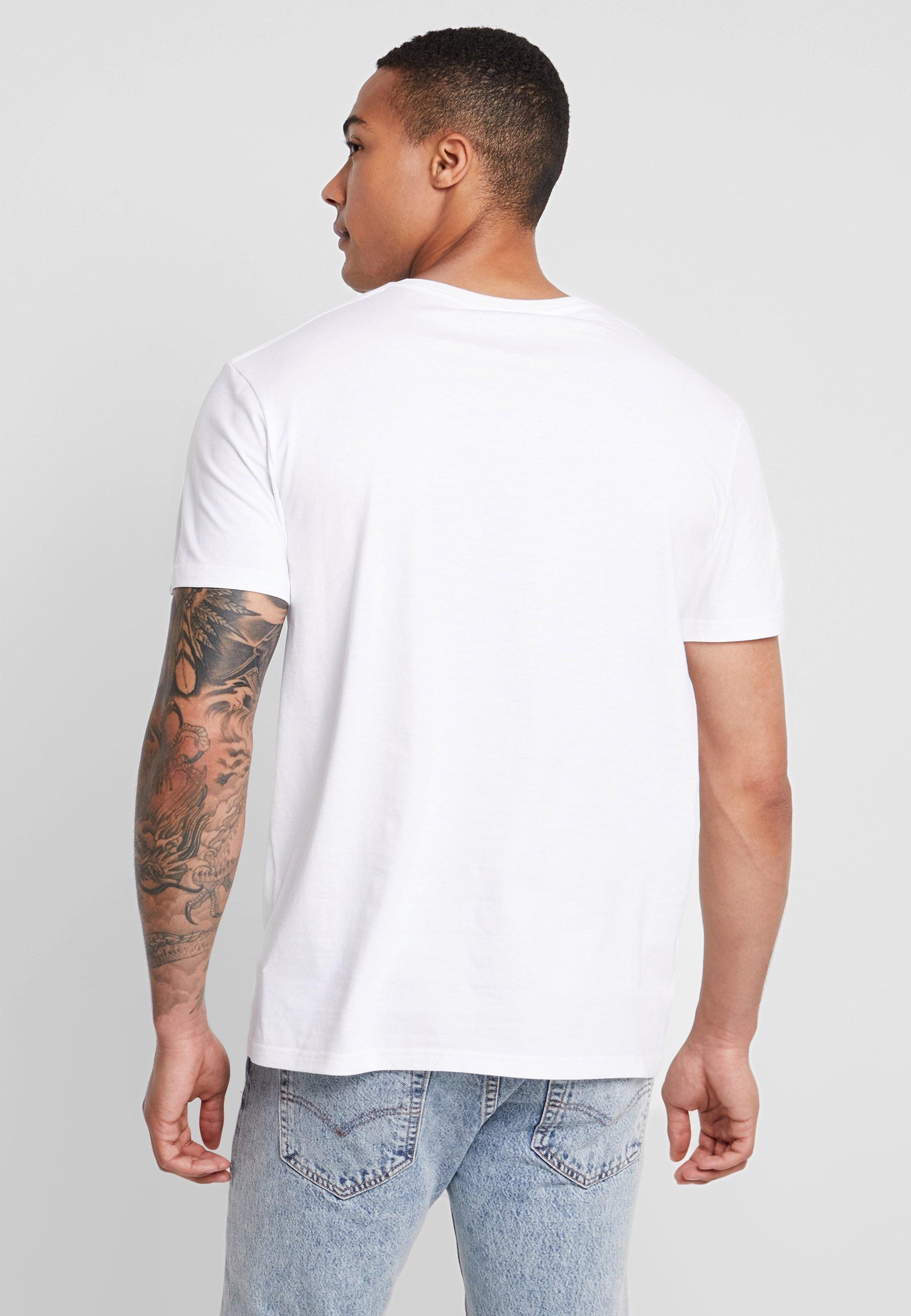 Quiksilver shirt TeesT White Imprimé Getbuzzyss tshrCdQ