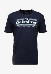 Quiksilver - GETBUZZYSS TEES - T-shirt print - sky captain - 4