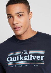 Quiksilver - GETBUZZYSS TEES - T-shirt print - sky captain - 3