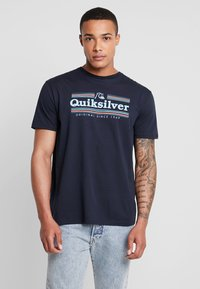 Quiksilver - GETBUZZYSS TEES - T-shirt print - sky captain - 0