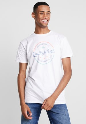 MENTALNOTESSS TEE - Print T-shirt - white