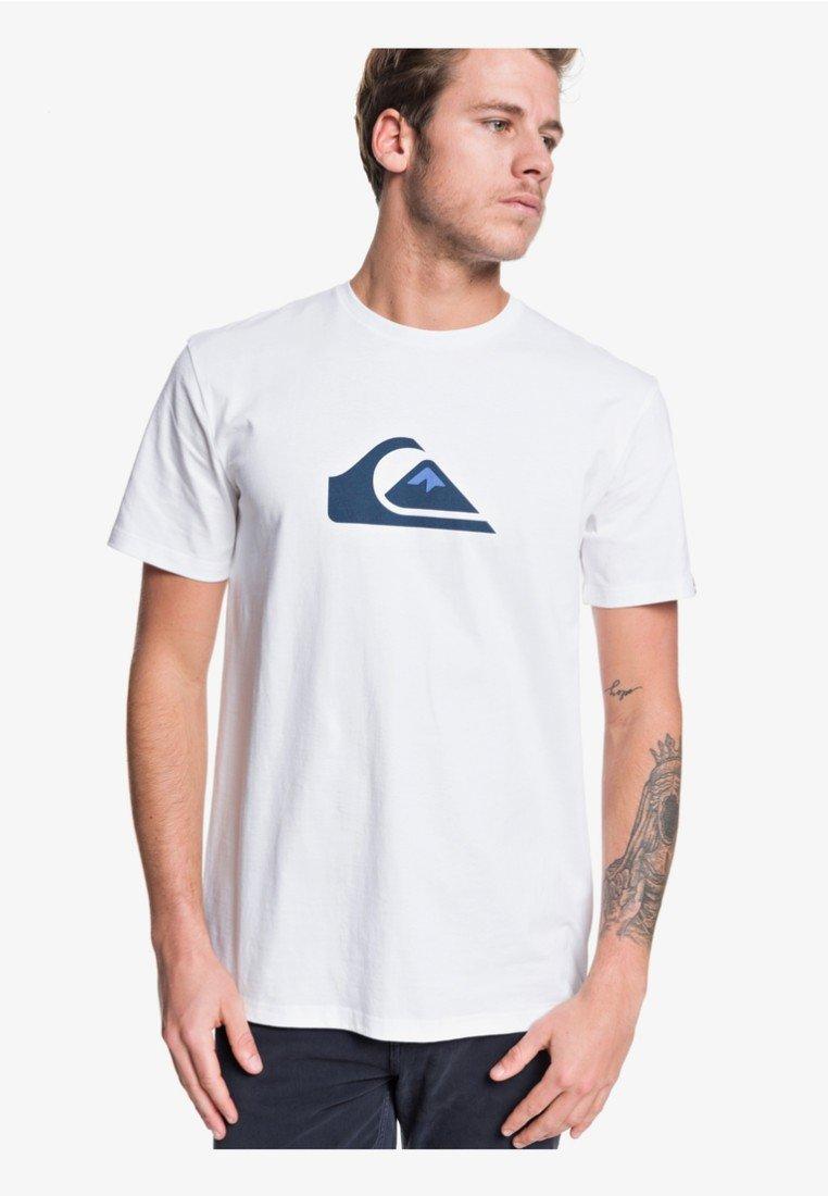 shirt CompT Quiksilver Imprimé shirt CompT White shirt White Quiksilver Quiksilver CompT Imprimé rosQxdBthC
