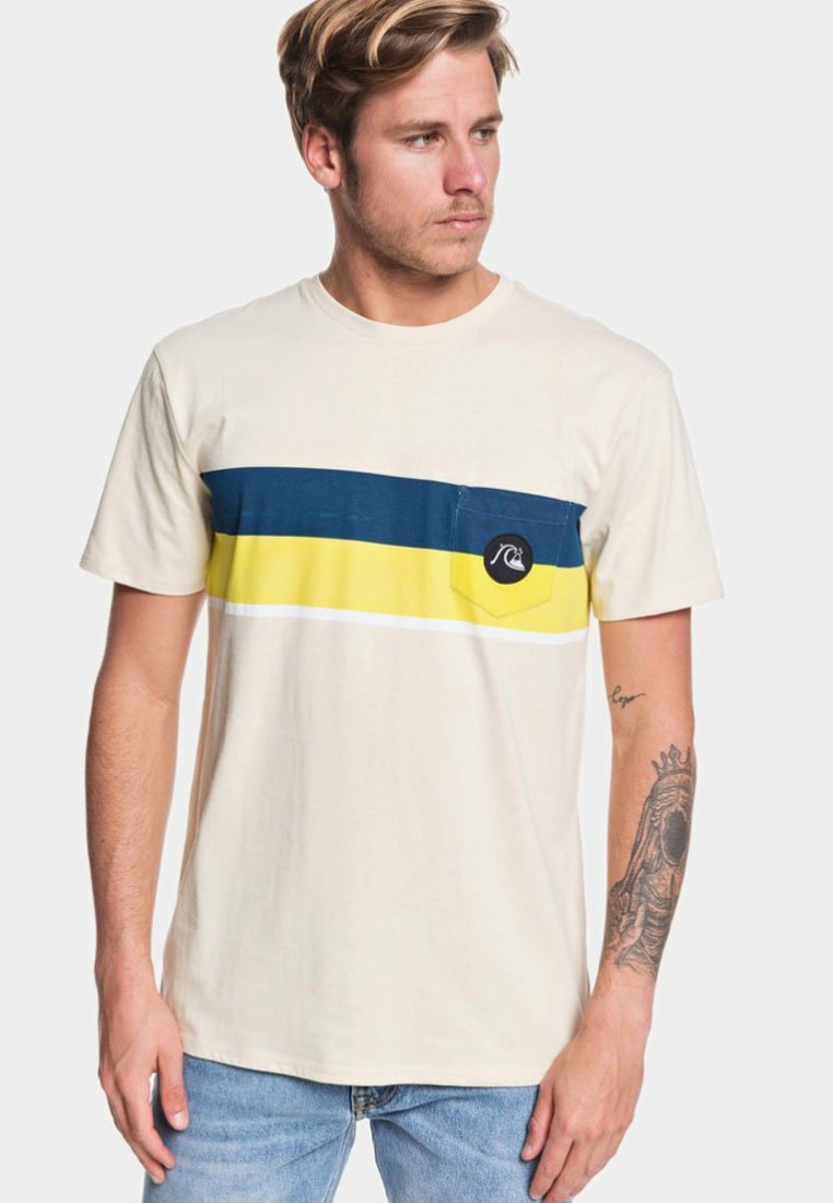 Quiksilver - MULTIPLY  - T-Shirt print - brazilian sand