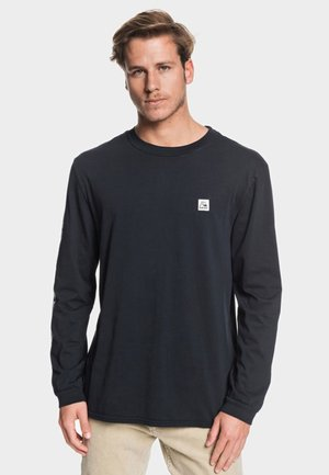 IN THE MIDDLE - Long sleeved top - black