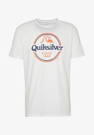 WORDSREMAINSS - T-shirt print - white