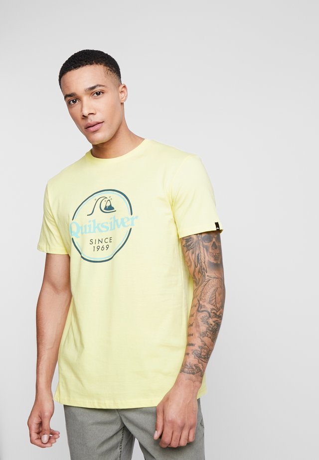 WORDSREMAINSS - T-shirt con stampa - charlock