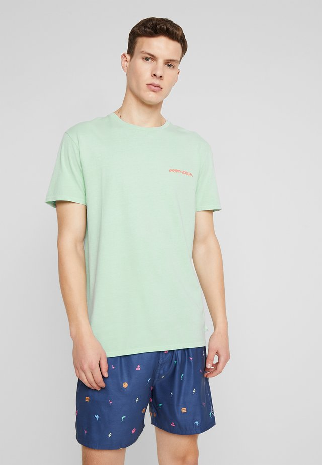 LAZYSUNSS - T-shirt print - beach glass